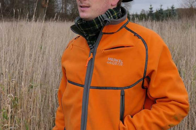 Merkel Gear Wendejacke Fleece Helix