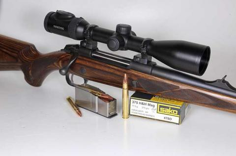Norbert Klups hat die Sako 85 Brown Bear in .375 H & H getestet.